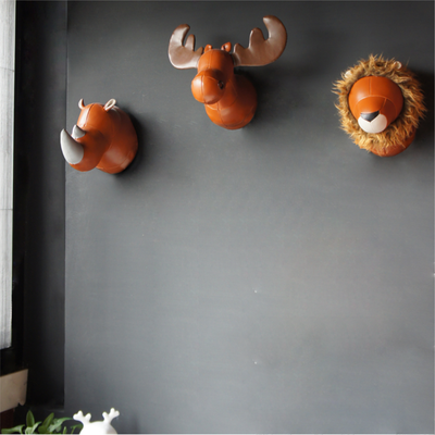 Zuny Large Wall Trophies Rhino