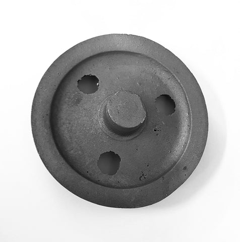 "Wagons: 3 Hole Discs (3' - 1 1/2"") Cast Steel Type"