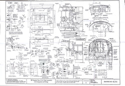 BR STD Class 4 Tank 80000: Cab and Fittings Drawing