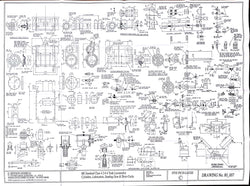 BR STD Class 4 Tank 80000: Cylinders, Lubricators, and Sanding Gear Drawing