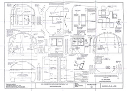 Britannia: Cab Platework Winson/Spink Design Drawing