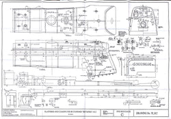Britannia: Boiler Cleading and Side Platforms Drawing