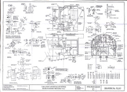 Britannia: Cab layout and Fittings Drawing
