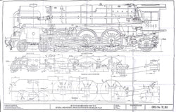 Britannia: General Arrangement LHS, and Frame Plates Drawing