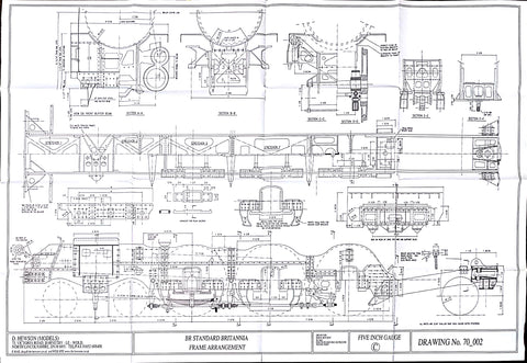 Britannia: Frame Arrangement Drawing
