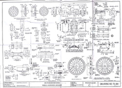 Britannia: Wheels, Suspension details and Bogie Drawing