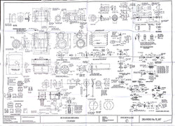 Britannia: Cylinders, Lubricators, and Sanding Gear Drawing