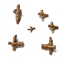 BR STD Fittings:  Steam operated cylinder cocks set