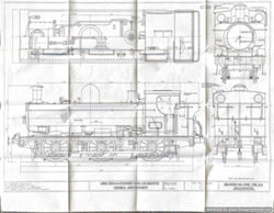 GWR 5700 Pannier Tank: Doug Hewson Complete Drawing set