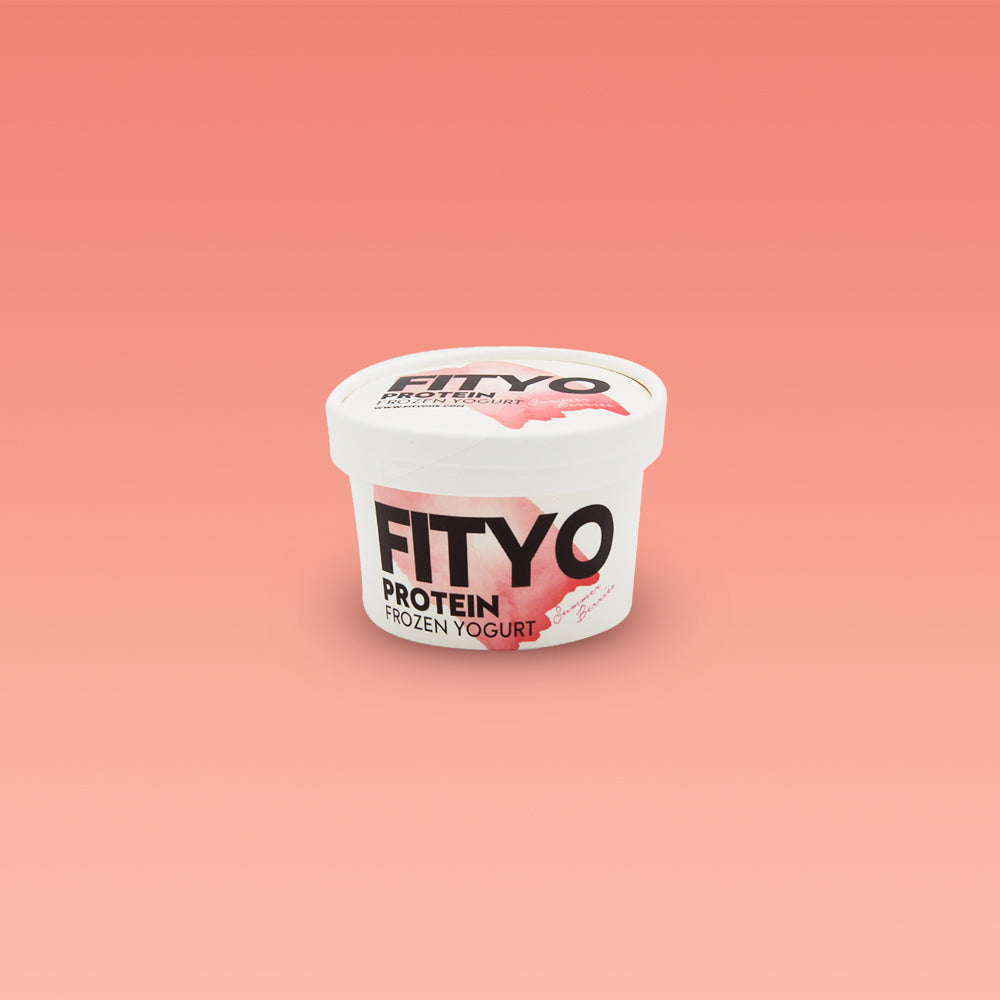 FITYO Protein Frozen Yogurt Summer Berries