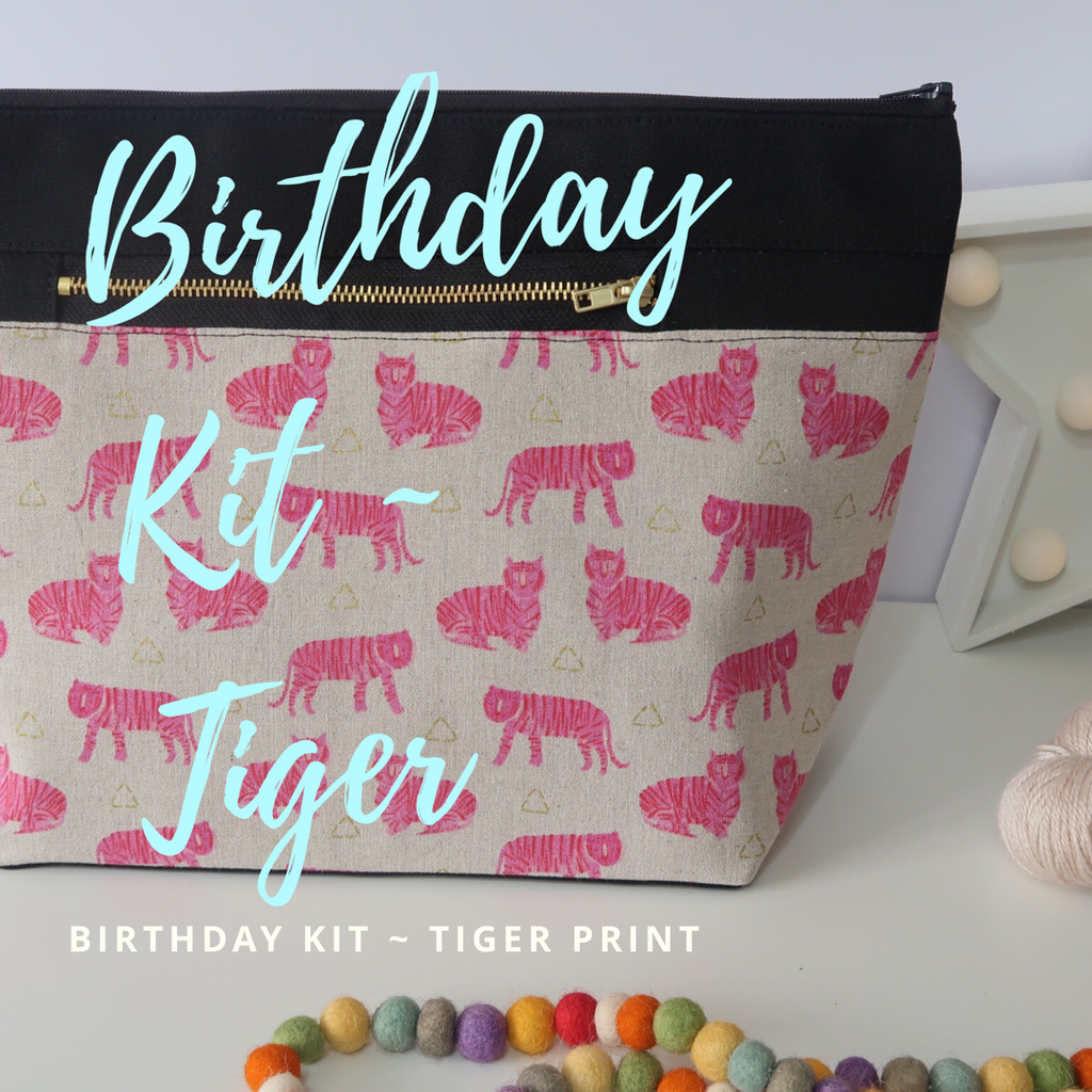 4th Year Birthday Kit ~ Tiger