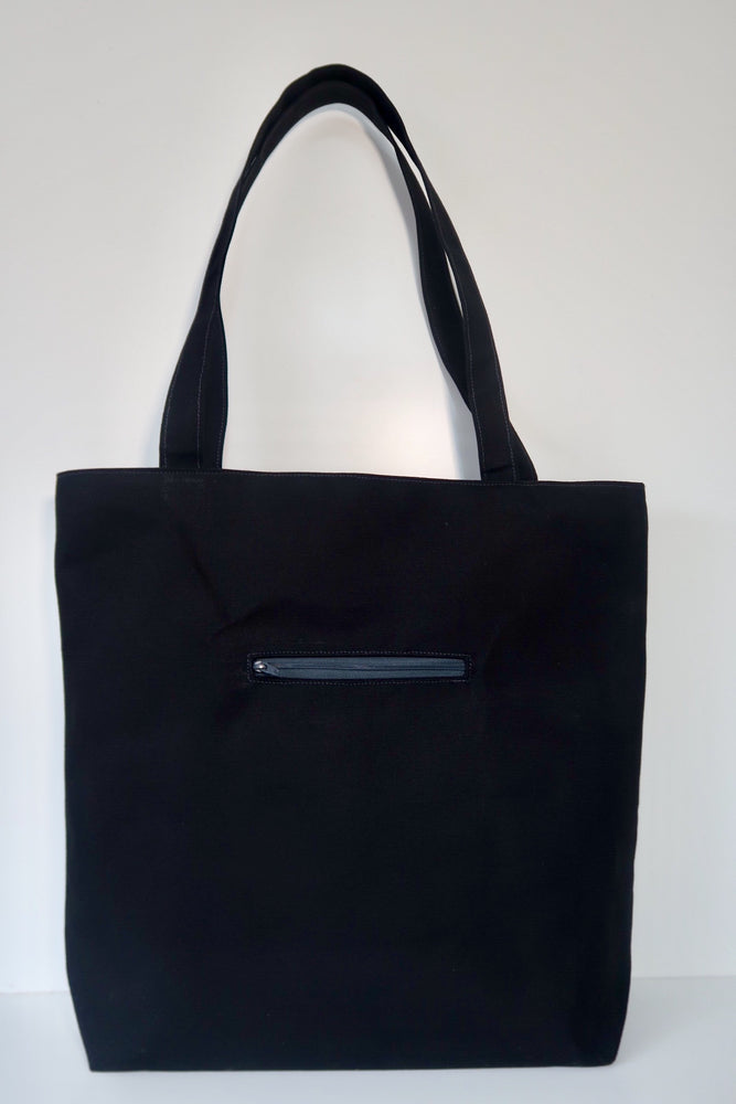 Knitters Carry All Tote - tote shoulder bag for knitters and crafters. Tote project bag
