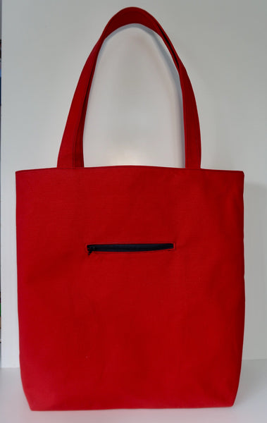 Knitters Carry All Tote - tote shoulder bag for knitters and crafters, ideal for yarn festivals and knit nights!
