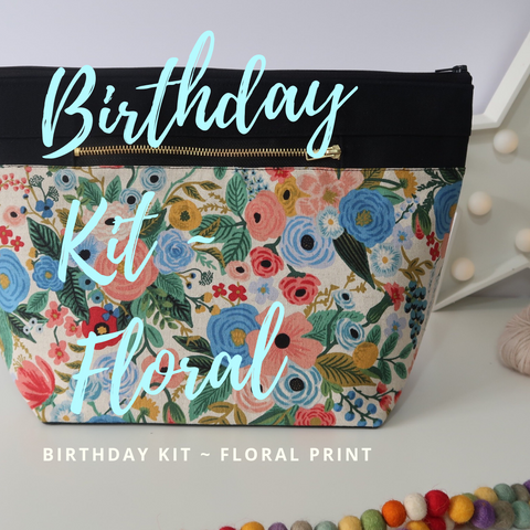 4th Year Birthday Kit ~ Floral