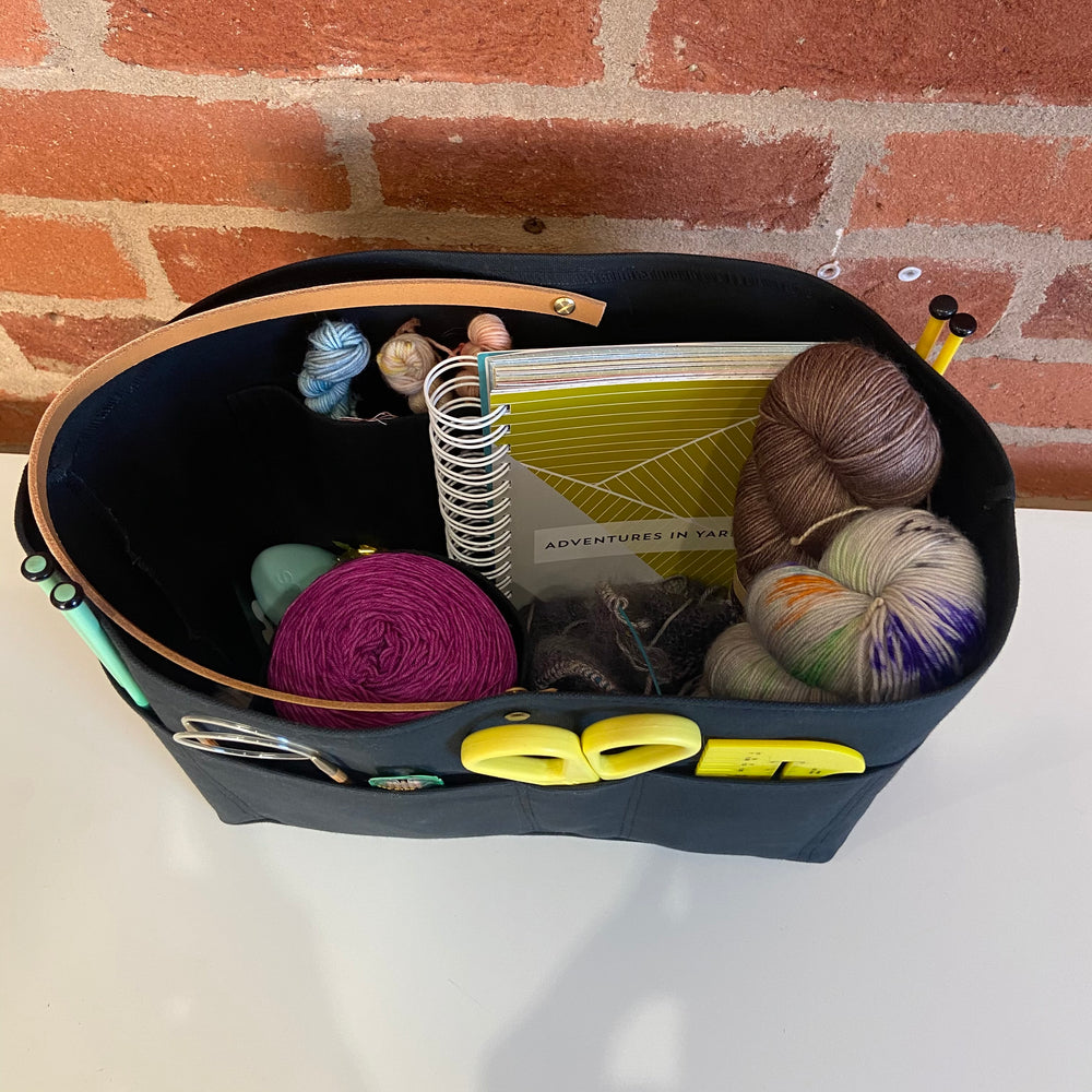 The Trug ~ Knitting and Crochet storage basket