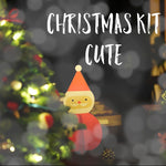 Cute Christmas Kit ~ Knitting and Crochet Project Bag plus treats! Various Bag sizes