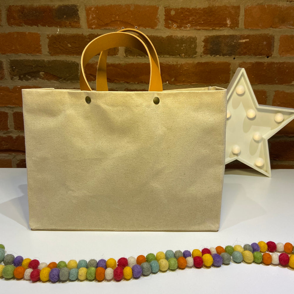 Short Tote ~ Yarn Project Bag ideal for knitters, crochet and crafters!