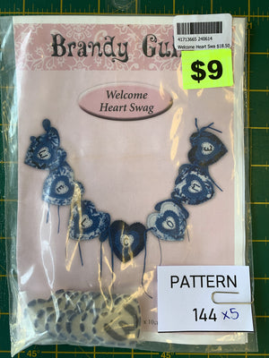 Pattern 144 - Includes Buttons