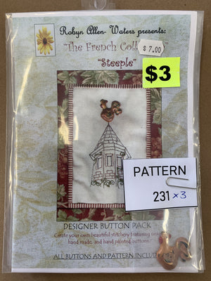 Pattern 231 - Includes Buttons