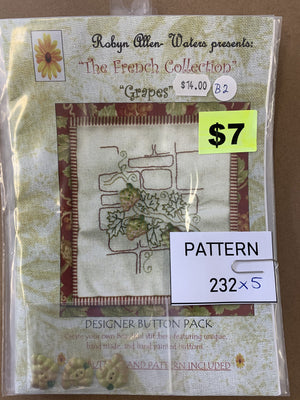 Pattern 232 - Includes Buttons