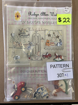 Pattern 307 - Includes Buttons