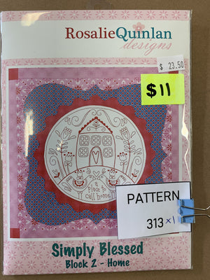 Pattern 313 - Includes Fabric