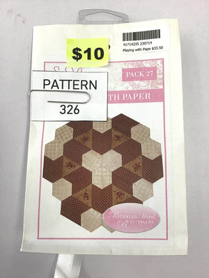 Pattern 326 - Papers Included