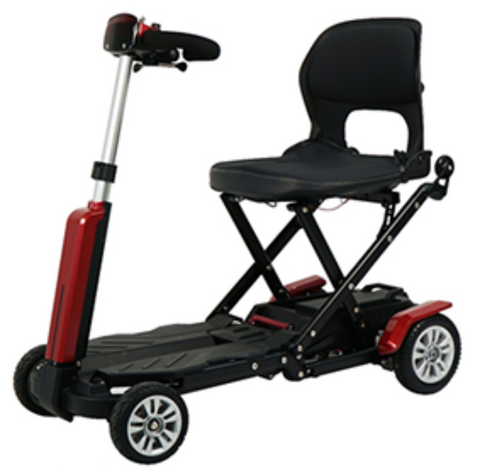 iLiving Cruiser Remote Folding Mobility Scooter
