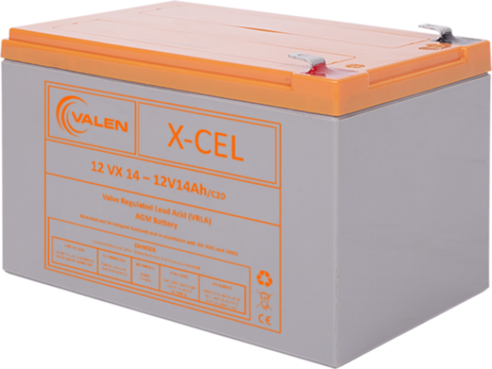 Valen X-cel 12V 14Ah Battery