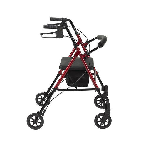 Height Adjustable Aluminium Rollator - Agility Mobility