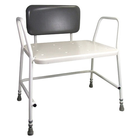 Aidapt Portland Padded Backrest Bariatric Shower Stool