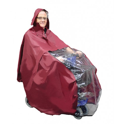 Aidapt Scooter Rain Poncho With Hood