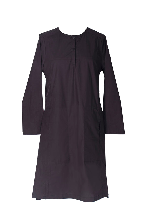 Storms black cotton tunic