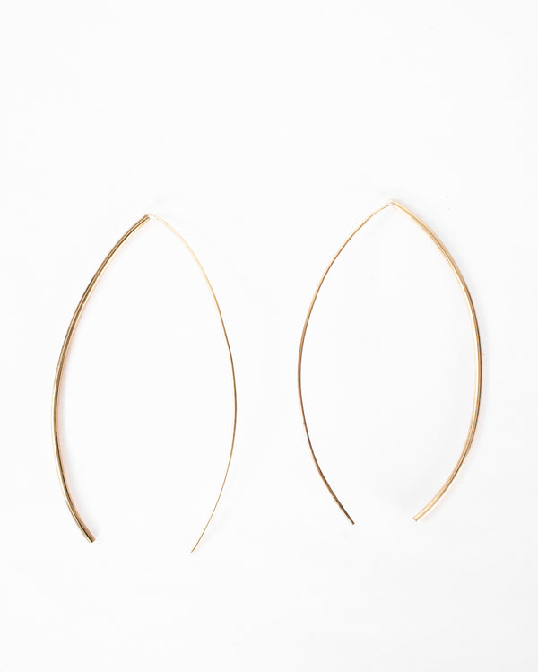 Large Curved Cingo Earrings