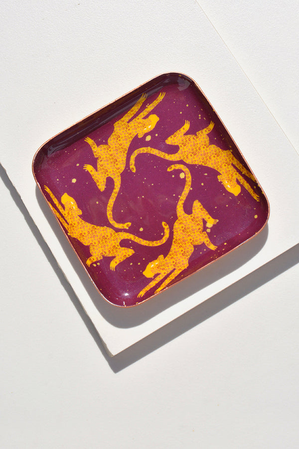 Dc Day Leopard Chase Ring Tray