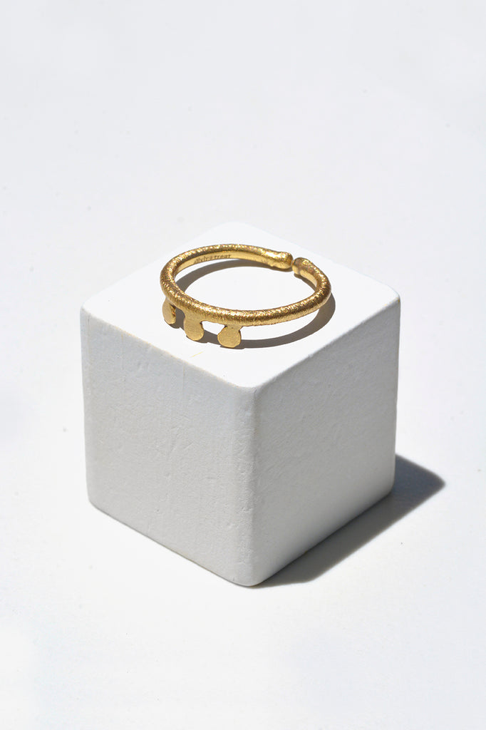 Ellipsis Stack Ring