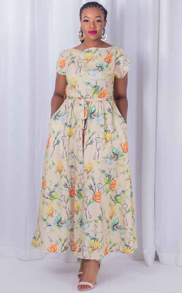 Floral Maxi Samantha Dress
