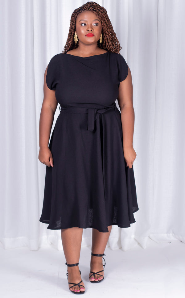 Black Samantha Dress