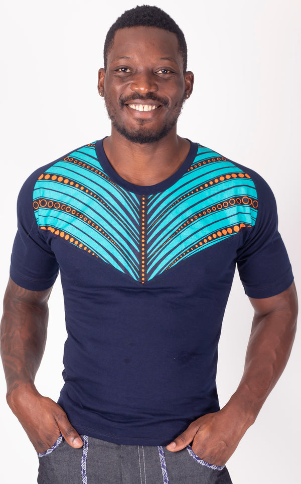 Ahanta Panel Slim Fit Tee