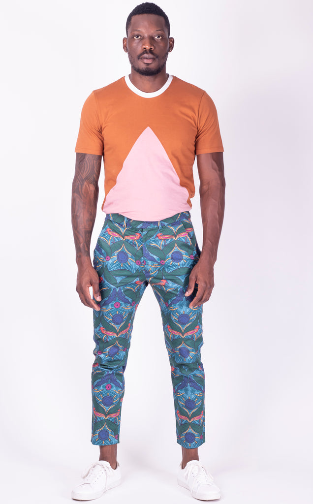Fundudzi Print Tailored Pants