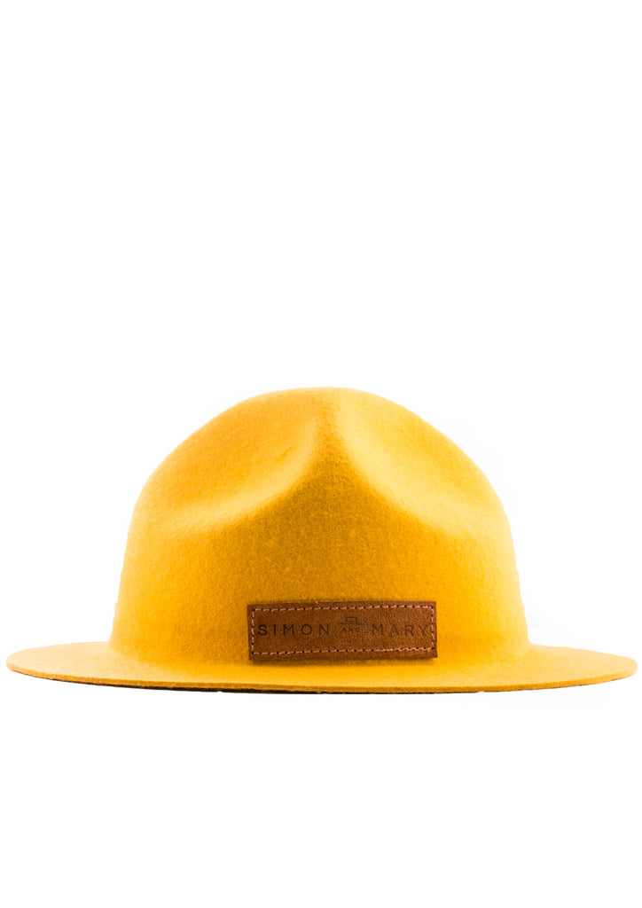 Mounty Hat - Yellow