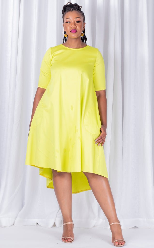 Swing Dress Yellow