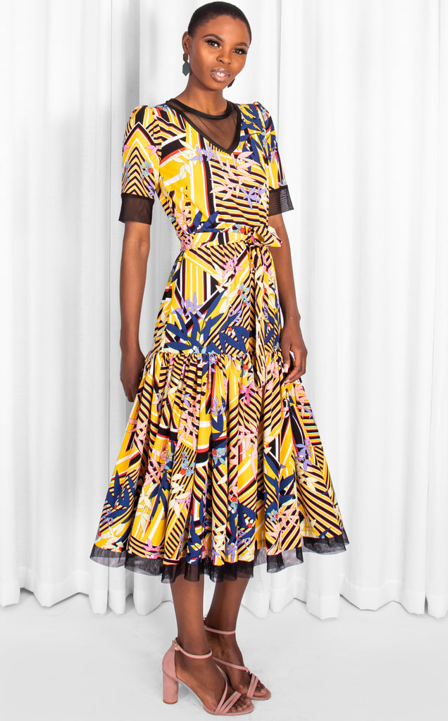 Muano Dress-Printed Dress