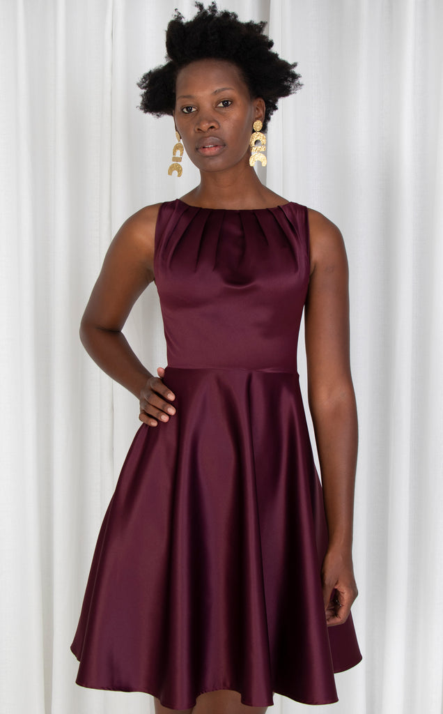 Satin Twist Dress