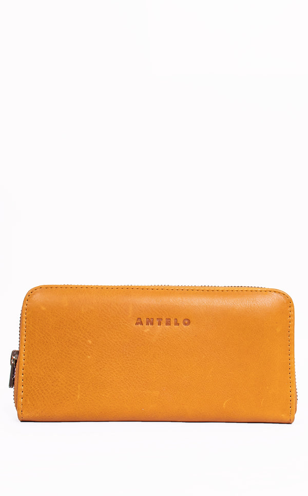 Hayley Ladies Leather Zip Around Wallet