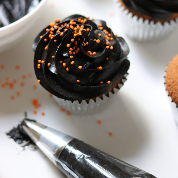 True Black Buttercream