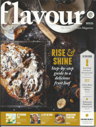 Recipe Feature: Flavour magazine