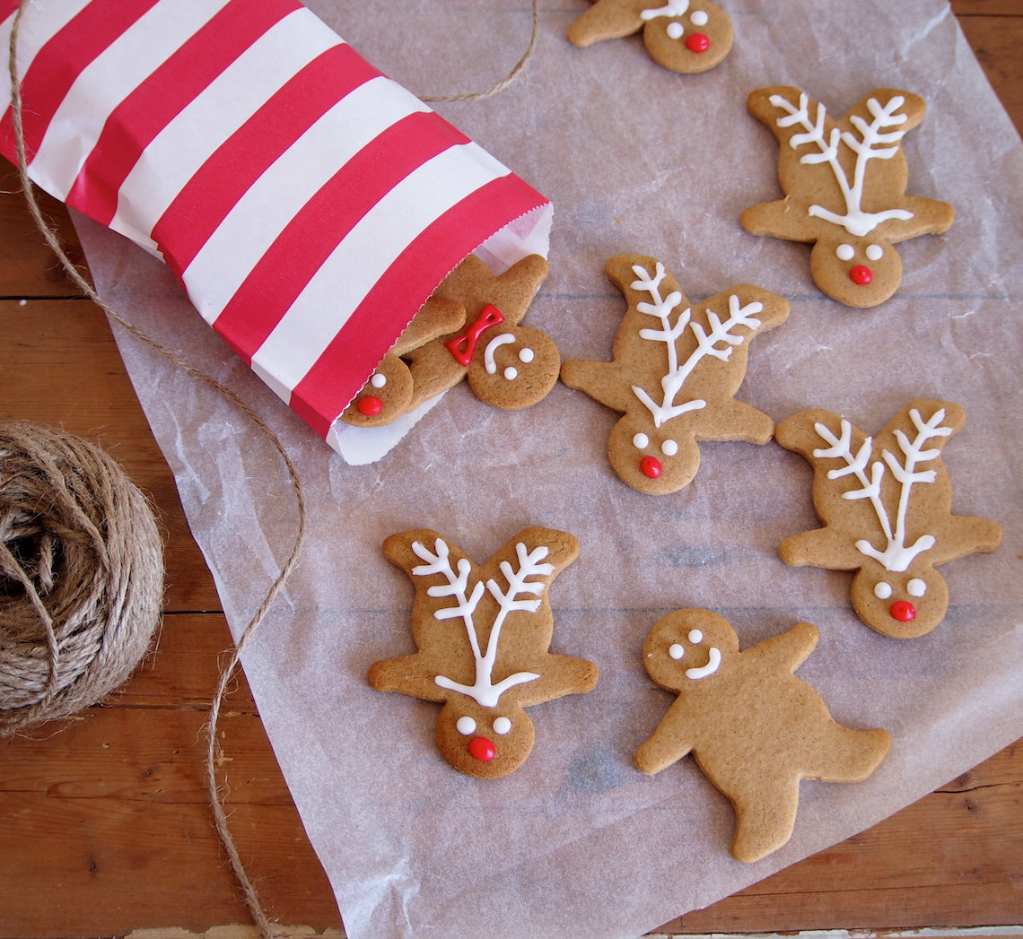 Gingerbread Men Reindeers Christmas Recipes Bakeclub
