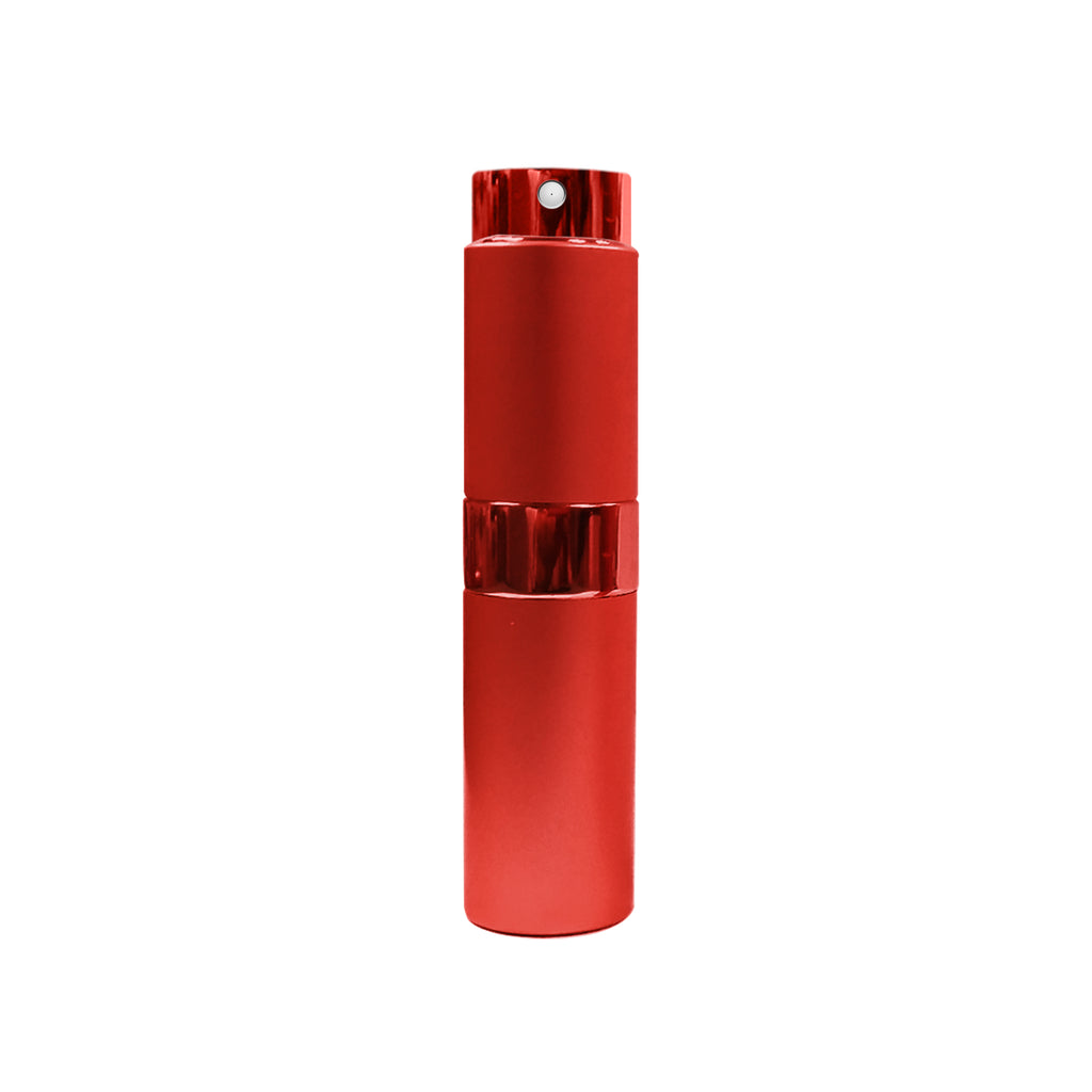 i-Sanitize Atomizer - Refillable Atomizer – Aluminum Spray Bottle (10 ml) (Red)