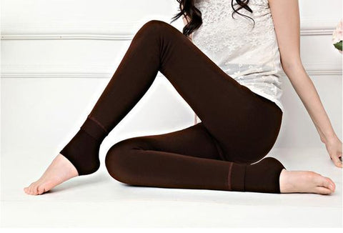 Divine Fur-Lined Winter Leggings